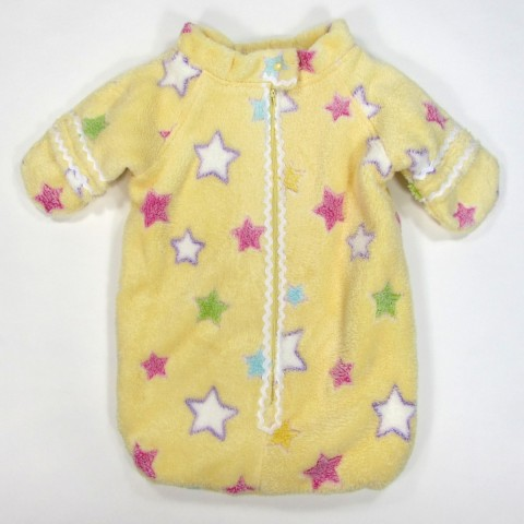 Gigoteuse hiver avec manches et moufles naissance bébé fille
