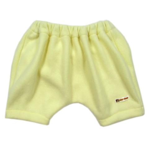 Pantalon sarouel velours jaune bébé fille ou garçon