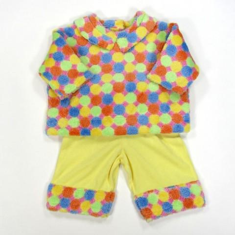 Ensemble sweat shirt et pantalon multicolore pour bébé fille ou garçon