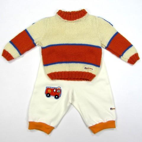 Tenue quotidienne pour bébé garçon de 6 mois en hiver