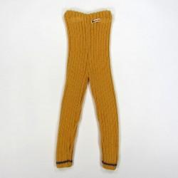 Caleçon tricoté en côtes par bebe reveur handmade pour fillette 2 ans