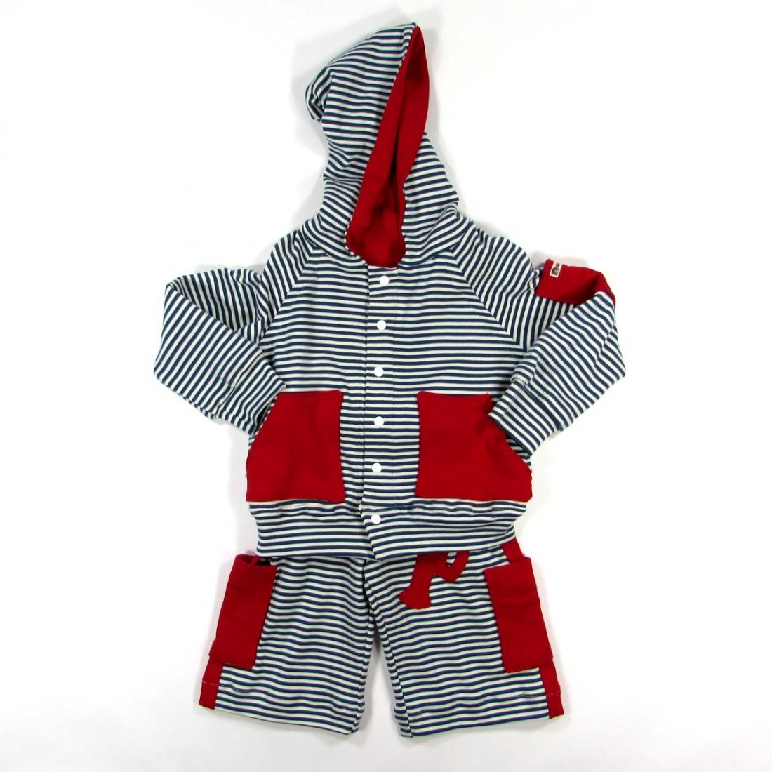 Blouson pantalon et tshirt pour bébé garçon de 2 ans