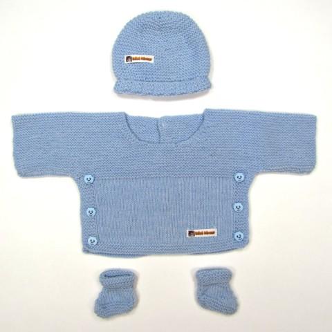 Trousseau bébé prématuré en tricot LUCAS