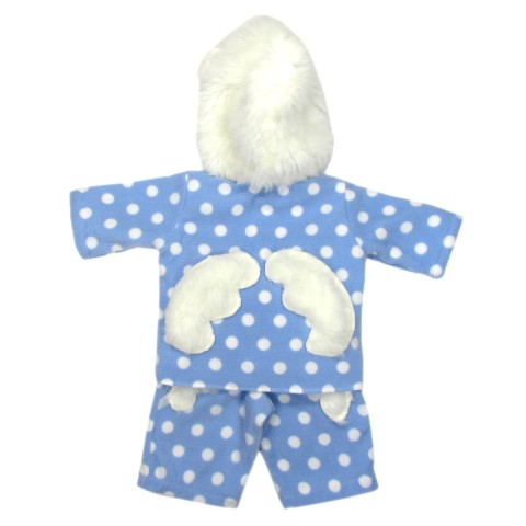 Ensemble bébé garçon hiver bleu ciel et blanc