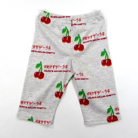 Pantalon bébé fille motif cerises