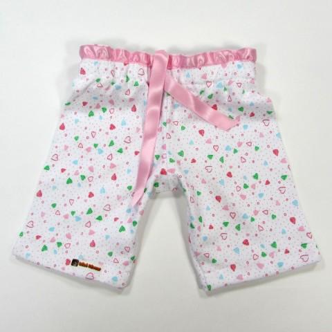 Pantalon blanc bébé fille 1 mois