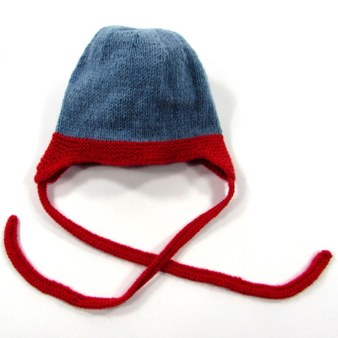 e107eb1bef7 Bonnet laine à oreilles bien enveloppant pour lutter contre le froid