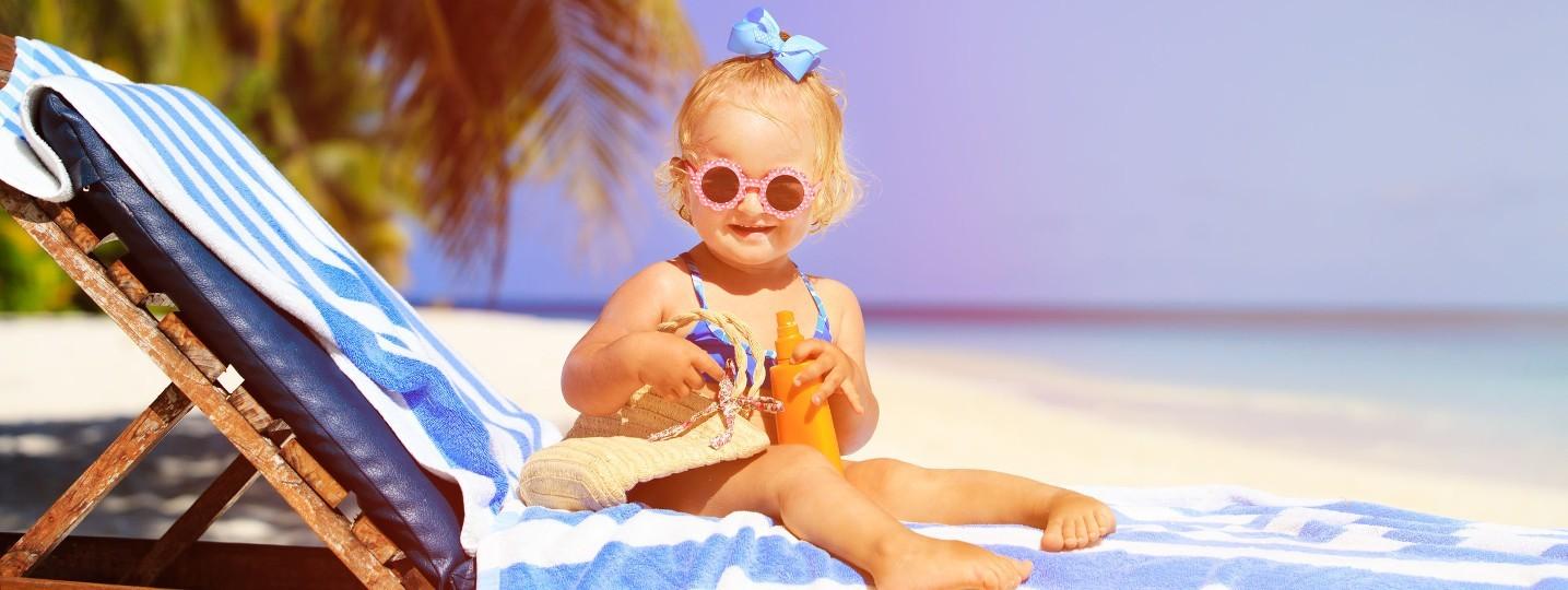 Collection de vêtements bébé pour l'été