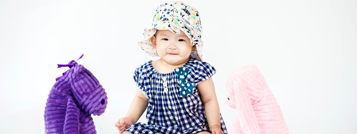Robe et jupe pour bébé fille dès la naissance tricot et couture