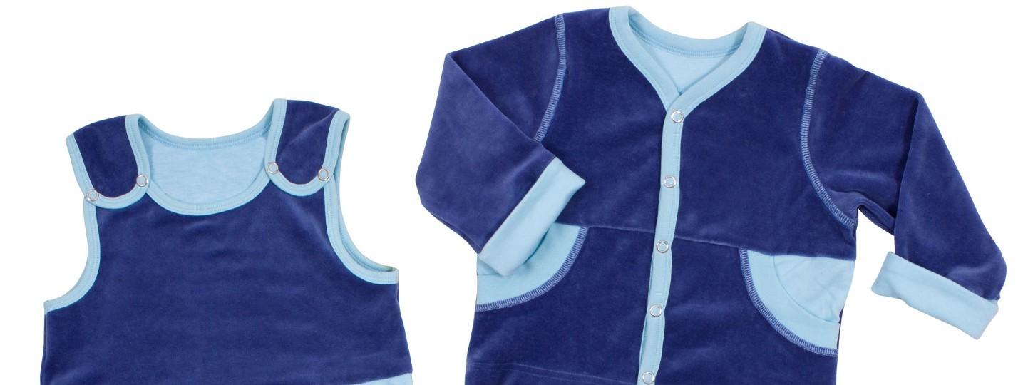 Vêtements bébé en velours
