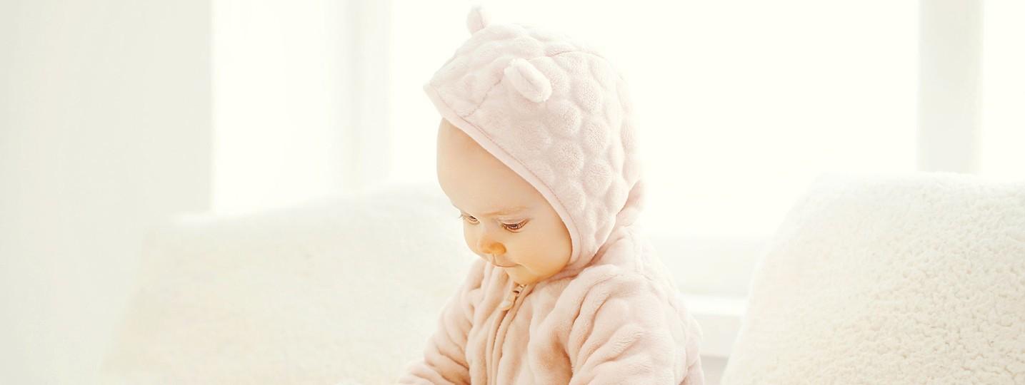 Vêtements bébé en polaire et peluche