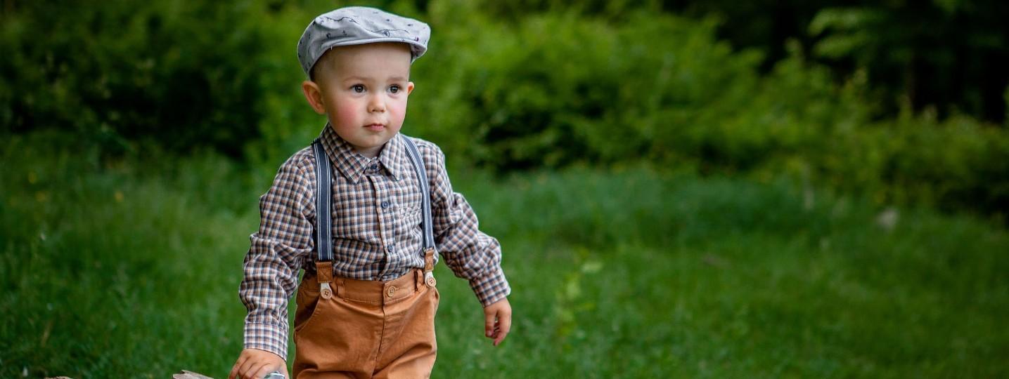 Ensemble couture et tricot bébé garçon