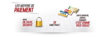 Paiement : plusieurs moyens s\'offrent à vous, par CB, PAYPAL, par chèque ou virement bancaire